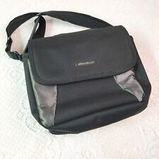 Eddie Bauer Black Padded Shoulder Bag Tablet Case / DVD Player Case/ Electronics