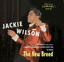 Jackie Wilson ‎ ‎- The New Breed  ( Vinyl, 7″, 45 RPM, EP )   new & sealed