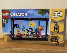 Lego Creator Set 31122 Fish Tank 3 In 1 New And Sealed
