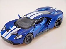 Kinsmart 2017 Ford GT 1:38 (Blue) Die Cast Collectable