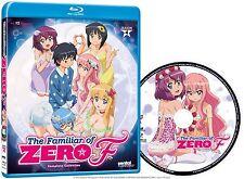 The Familiar Of Zero . F . The Complete Season 4 . Anime . Blu-ray . NEU . OVP