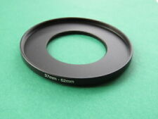 37mm-62mm Stepping Step Up Male-Female Lens Filter Ring Adapter 37mm-62mm