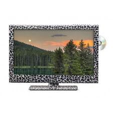 """Stampa leopardo 22"""" POLLICI HD READY LED 12 Volt TV TELEVISIONE PER CARAVAN CAMION AUTOCARRO Arenato"""
