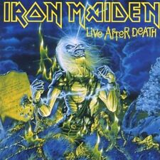 IRON MAIDEN LIVE AFTER DEATH REMASTERED 2 CD NEW