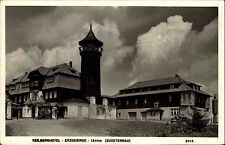 Klínovec Keilberg Erzgebirge Sudetengau AK ~1940 Keilberghotel Hotel ungelaufen
