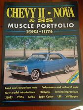 Chevy II Nova & SS Muscle Portfolio 1962-1974 by Brooklands