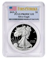 2019 S 1oz Silver Eagle Proof PCGS PR69 DCAM - First Strike Label - PRESALE