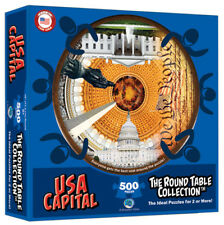 NEW USA Capital The Round Table Collection, 500 piece puzzle by A Broader View