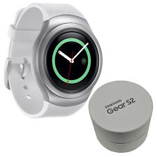 BNIB Samsung Galaxy Gear S2 SM-R7200 4GB Silver IP68 Powered by Tizen New Boxed