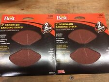 "Do it BEST 5"" Sanding Discs,No 330213, Ali Industries PK2 (X11839-2*A)"