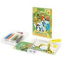 Sabbiarelli Mini Kit Baby - Matching Game Pianet, giochi educativo made in italy
