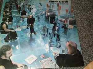 Robert Fripp & Brian Eno Vinyl LP No Pussyfooting 1977 Issue Polydor 2343 095