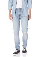 Levi's 512 Slim Taper Fit Men's light blue stretch Jeans size 28x30 33x32 30X32