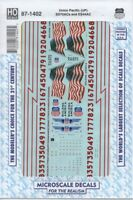 HO Scale Microscale 87-1402 UP Union Pacific SD70ACe & ES44AC Diesels Decal Set