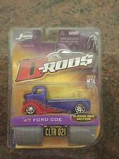 47 Ford Coe D-rods Jada Toy 1/64 Scale In Blue