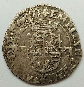 SAVOIE - Emmanuel Philibert - Blanc de 4 soldi 1577 Verceil