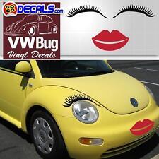 EYELASHES for cars headlight, Car eyelashes, car light eyelash sticker decal Car