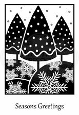 Woodware Clear Magic Framed Trees JGS607