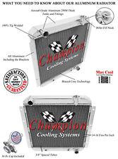 4 Row Perf Champion Radiator for 1958 - 1980 Toyota Land Cruiser V6 Engine