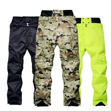 Men 's Snowboard Pants Waterproof Windproof Camouflage Outdoor Skiing Trousers