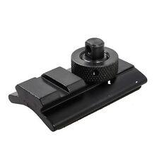 Aluminum Bipod Adapter Swivel Slot Adaptor Weaver Rail Slot Sling Stud Mount