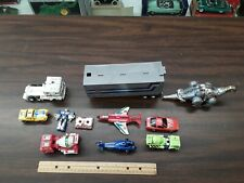 misc lot of vintage transformers go-bots optimus trailer sludge ultra magnus etc
