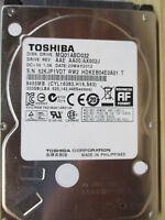 "320 GB Toshiba MQ01ABD032 AX002J SB520MAY2012 2,5"" disco rigido PCB OK"