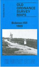 Old Ordnance Survey Map Bidston Hill 1909 Birkenhead Forest Road Eleanor Road