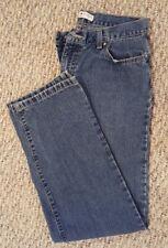 Tommy Hilfiger Womens Juniors 8 Low Rise Distress Bootcut Denim Jeans