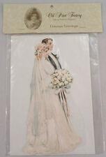 Victorian Turn Of The Century Wedding Card Pop-Up Bride & Groom #Grc105