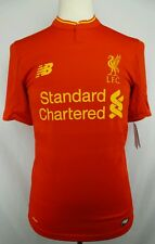 Authentic New Balance 2016-2017 Liverpool F.C Player Issue Soccer Jersey Size S