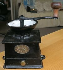 More details for antique kenrick & sons cast iron coffee grinder mill no 2 – kitchenalia