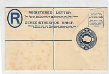 SOUTH AFRICA: KGV Registered Postal Stationery (C29118)