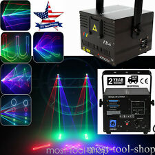 1W Rgb Full Color Ilda Dmx Dj Party Animation Stage Laser projector Light Show