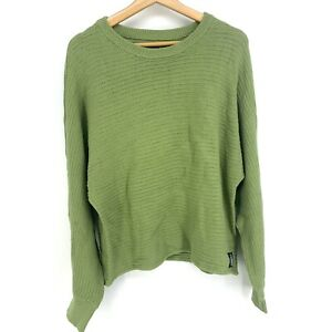 XLarge Calvin Klein Jeans Sweater Pullover Green Cozy Fall C082