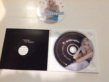 CHRISTINA AGUILERA: I TURN TO YOU (2-track Enhanced CD Single NEW SEALED!