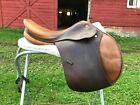 17.5 34cm medium wide Prestige Michel Robert Appaloosa close contact saddle