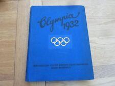 Olympia 1932 alemán Los Angeles Tapa Dura Grande Original Chronicle completo foto