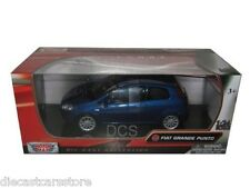 Motormax  Fiat Grande Punto 1/24 Diecast cars New In Box 73377BL