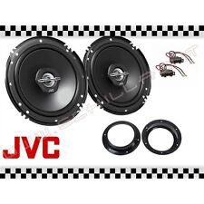 Coppia casse JVC + supporti Audi A2 posteriori 16,5cm altoparlanti