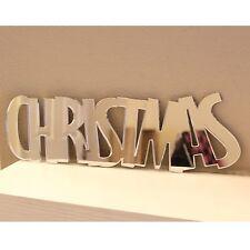Mirror Christmas Shabby Chic Garland Mantelpiece Table Wall Decoration