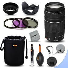 Canon 75-300 Lens for Canon EOS Rebel T6i T5i T4i T3i, T2i 700D 650D 600D 550D