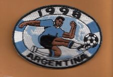 1998 WORLD CUP FOOTBALL ARGENTINA PATCH UNUSED SOCCER DISCOUNTED SALE