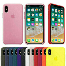 Apple iPhone 11 PRO XR XS MAX X 8 7 6 PLUS Genuine Thin Silicone Case Cover Slim