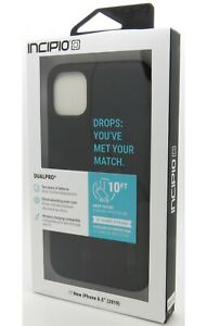 Incipio Dualpro Dual-Layer Protection Series Case for Apple iPhone 11 Pro Max