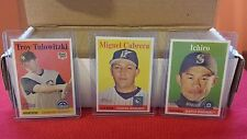 2007 Complete TOPPS HERITAGE BASE SET  *** 384 cards  MINT