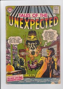 Tales Of The Unexpected #10, Feb. 1957, DC Comics GD- complete tough book!