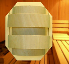 Sauna Lampe Leuchte Lampenschirm Wandlampe Erle Beleuchtung Lampenfassung