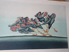 Jean-Paul GRIFFOULIERE-Lithographie originale-sport- football-HANDSIGNED