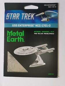 Star Trek Metal Earth USS Enterprise 1701-D